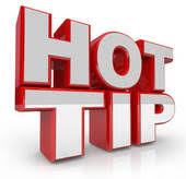 Image saying Hot Tip