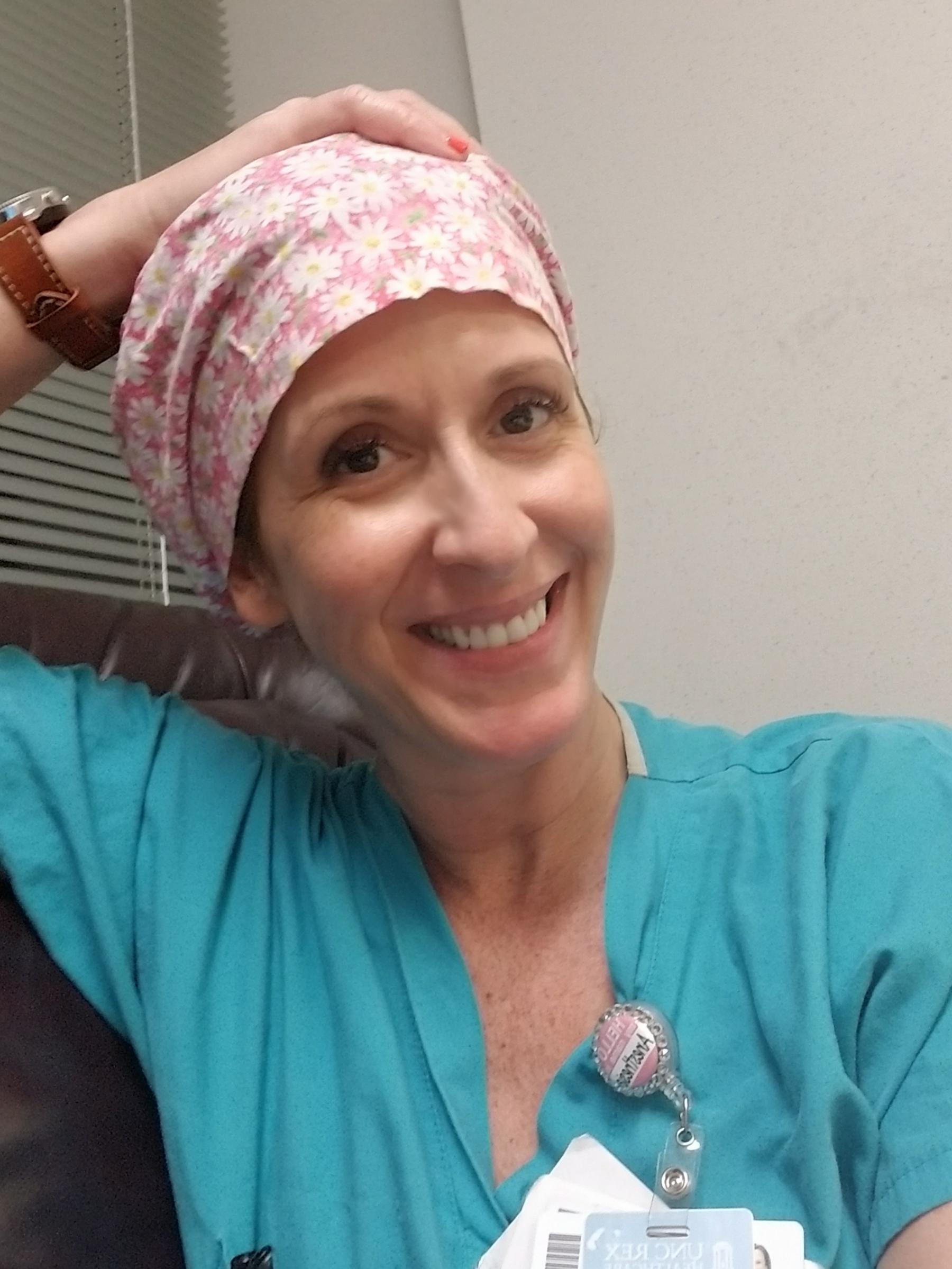 UNCG nurse anesthesia student Bevin Strickland