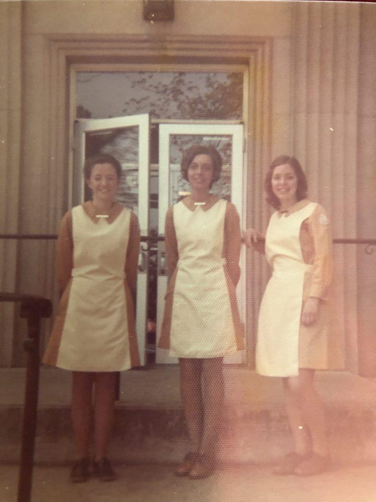 Nurse students in uniform