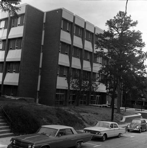 Moore Building in 1967